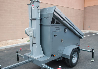 Compact light trailer