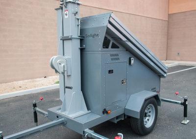 Compact light trailer
