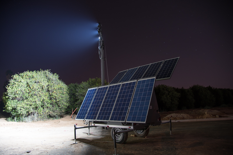 solar lighting border light tower mobile security slt ideal solight for products