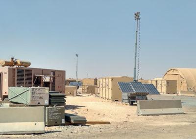 Military Light Cart on Base-