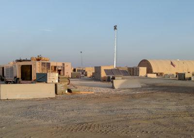Military Light Cart on Base-2-2