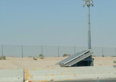 Military Light Cart on Base--2